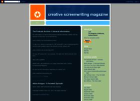 creativescreenwritingmagazine.blogspot.com