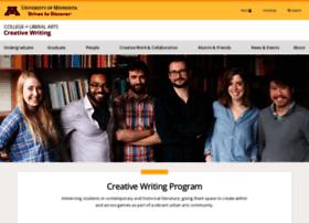 creativewriting.umn.edu