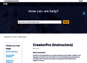 creatorpro.fiu.edu