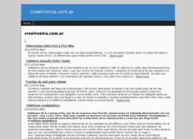 creatronica.com.ar