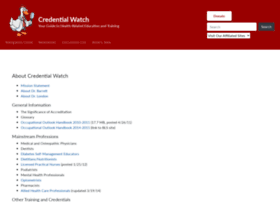 credentialwatch.org
