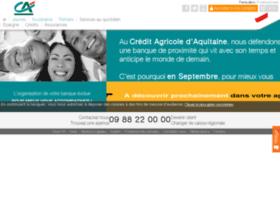 credit-agricole-aquitaine.fr