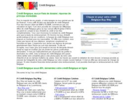 credit-belgique.com