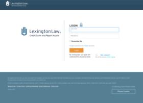 creditaccess.lexingtonlaw.com