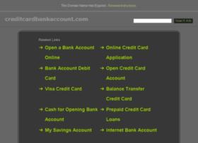 creditcardbankaccount.com