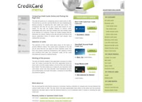 creditcardmenu.com