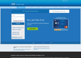 creditcards.citi.com