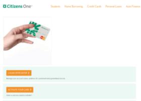 creditcards.citizensone.com