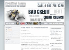 creditedloans.com