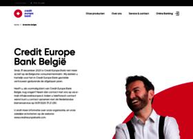 crediteurope.be
