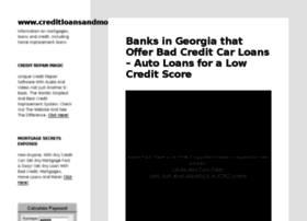creditloansandmortgages.com