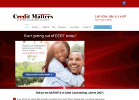 creditmatters.co.za