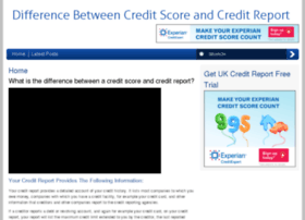 creditreportcreditscore.co.uk