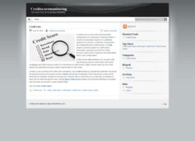 Creditscoremonitoring.wordpress.com