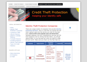 credittheftprotection.org