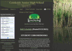 creeksidejunior.stpsb.org