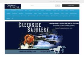 creeksidesaddlery.com