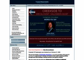 creeksidetd.toastmastersclubs.org
