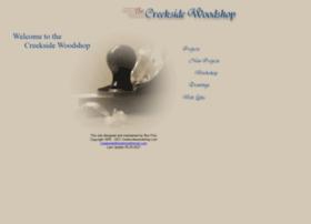 creeksidewoodshop.com