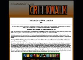 creekwalkfestival.com