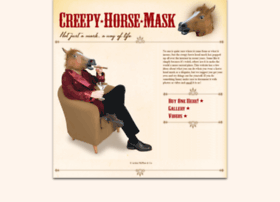 creepyhorsemask.com