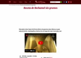 crema-bechamel.recetascomidas.com