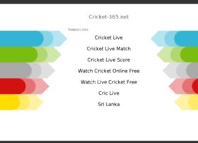 cricket-365.net