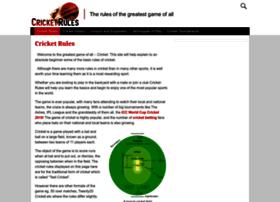 cricket-rules.com