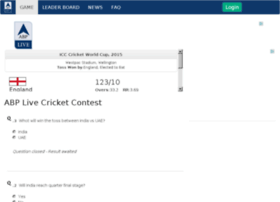 cricket.abplive.in