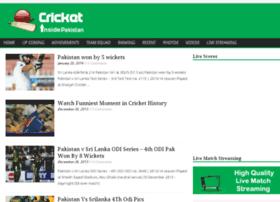 cricket.insidepak.com