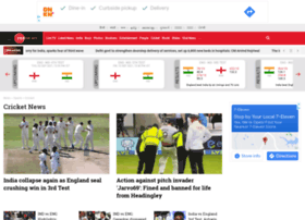 cricket.zeenews.com
