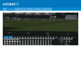 cricket20.com