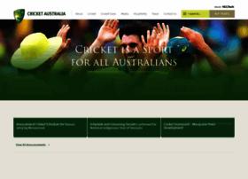 cricketaustralia.com.au