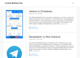 cricketbettingstipfree.com