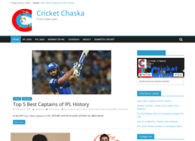 cricketchaska.com