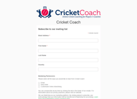 cricketcoach.com