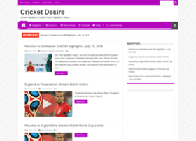 cricketdesire.com