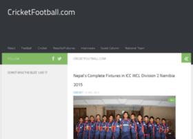 cricketfootball.com
