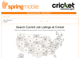 cricketmobile.applicantpool.com