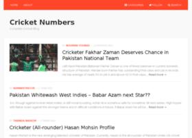 cricketnumbers.com