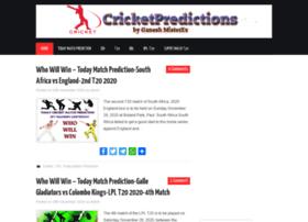 cricketpredictions.in