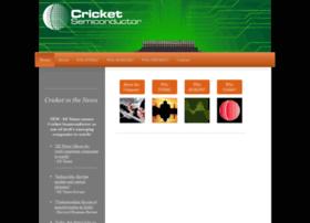cricketsemiconductor.com