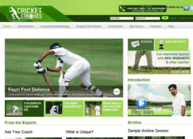cricketstrokes.com