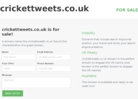 crickettweets.co.uk