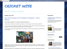 cricketwise.blogspot.in
