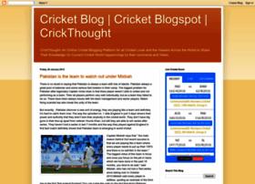 crickthought.blogspot.com