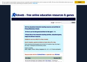 crickweb.co.uk