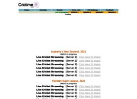 crictime.co