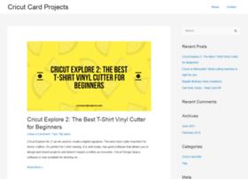 cricutcardprojects.com