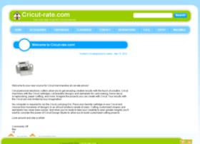 cricutrate.com
